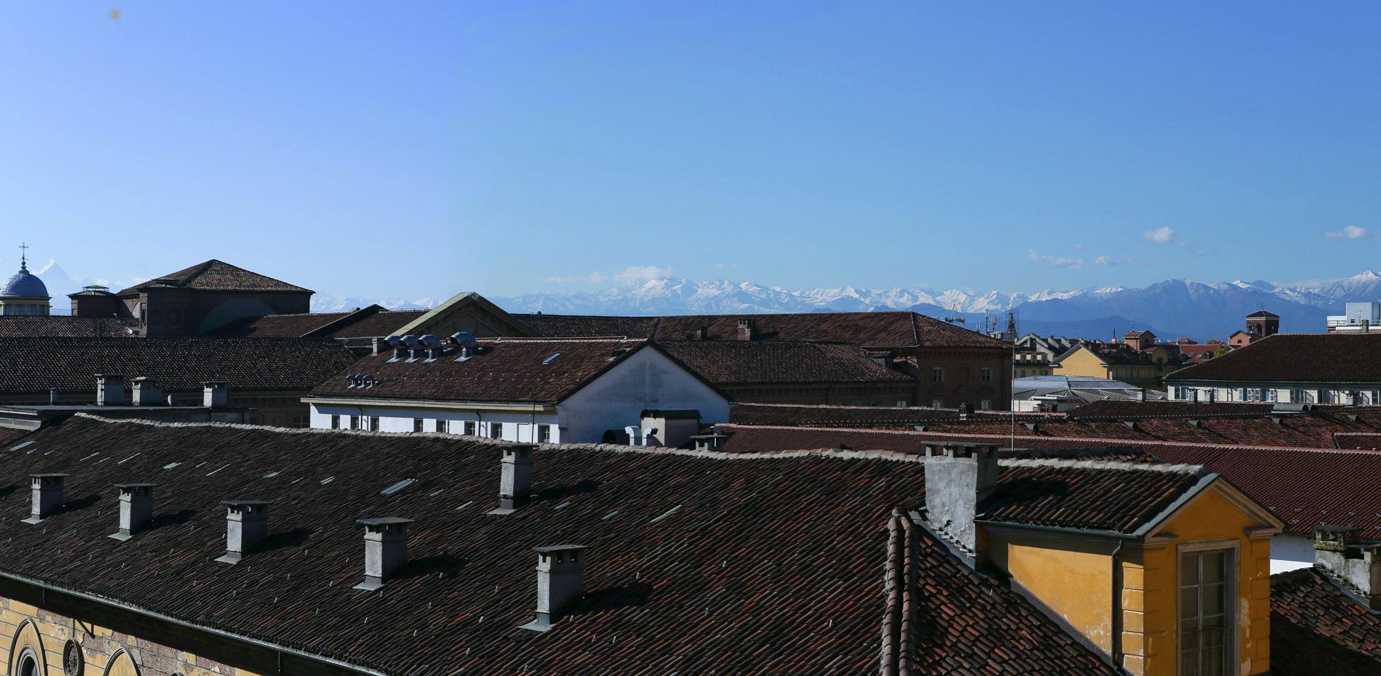 Tetti di Torino dalla Residenza dell'Opera