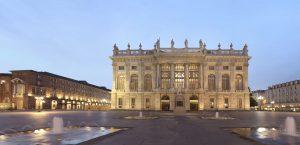 Place Castello (du Château) et Palais Madama - Turin
