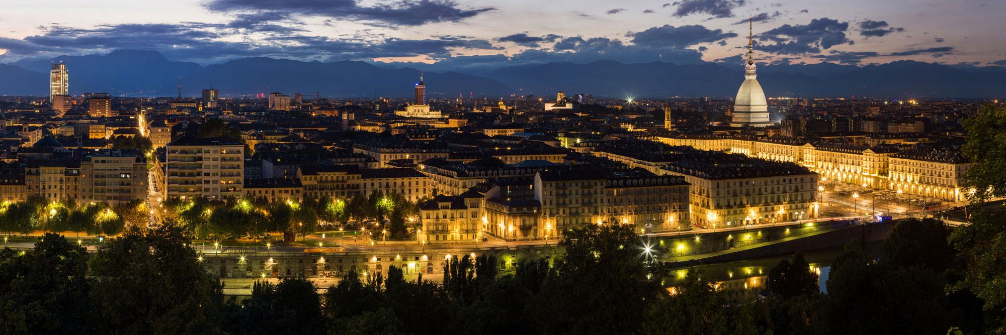 Turin de nuit